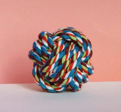 Cotton rope ball